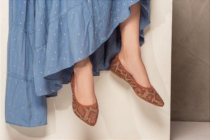 Sapatilha de Moda Feminina Casual Velleza R-804
