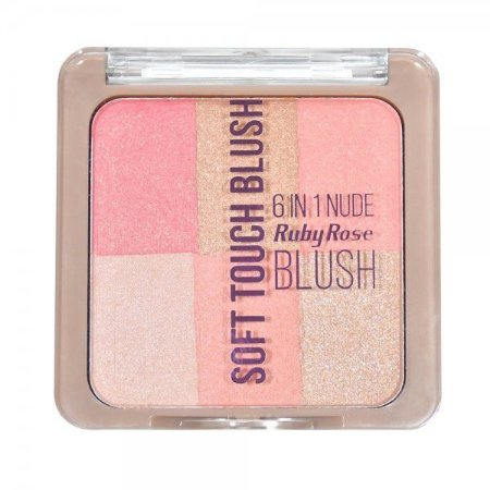Blush Soft Touch 6 em 1 - Ruby Rose