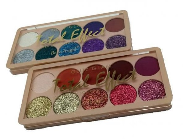 Paleta de Sombras Glitz Glam Total Effect - Belle Angel