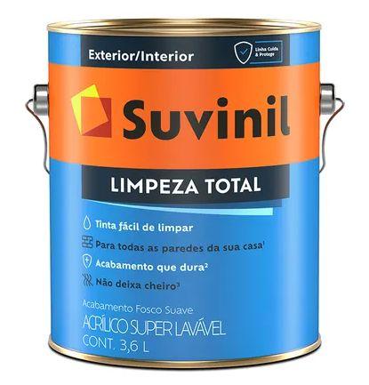 Suvinil Acrílico Limpeza Total Branco 3,6 Litros