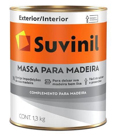 Suvinil Massa para Madeira 0,9L/1,3KG