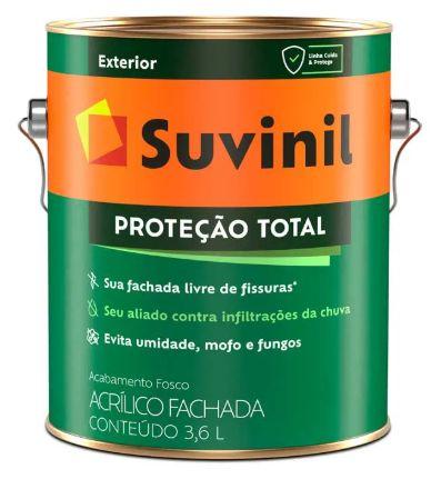 Suvinil Proteção Total Fosco Branco 3,6 Litros