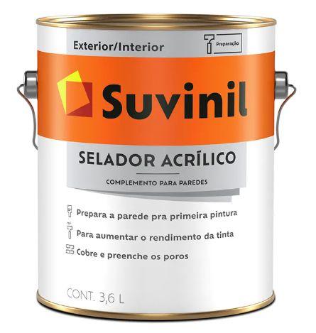 Suvinil Selador Acrílico 3,6 Litros