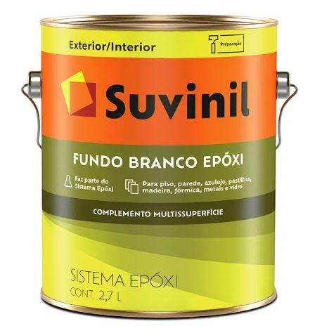 Suvinil Fundo Branco Epóxi 2,7 Litros