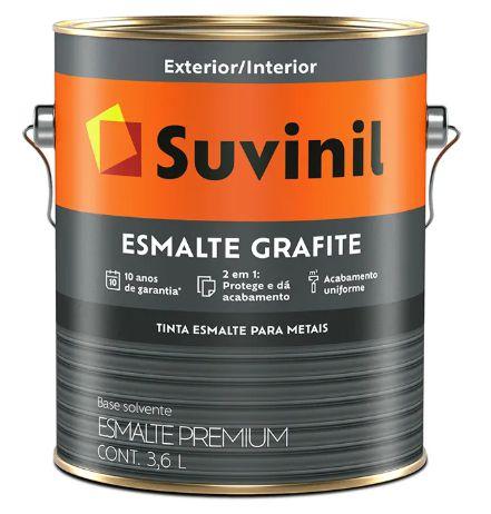 Suvinil Esmalte Grafite 3,6 Litros