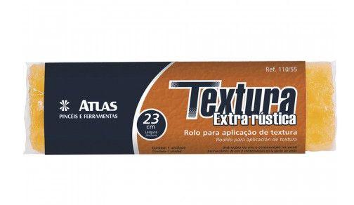 Rolo Textura Fina 110/75 23 cm Atlas