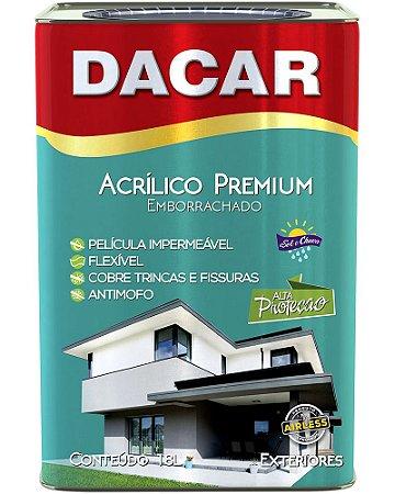 DACAR ACRILICO EMBORRACHADO