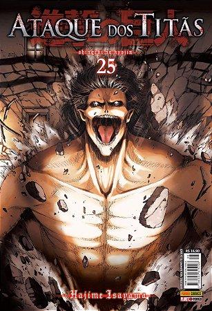Ataque dos Titãs Vol. 25 - Pré-venda