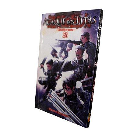 Ataque dos Titãs Vol. 26 - Pré-venda