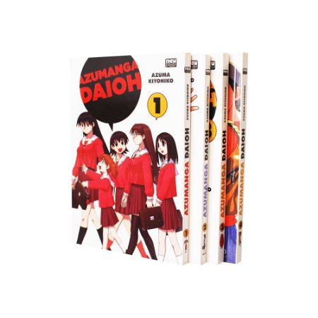 Azumanga Daioh Vol. 1 ao 4
