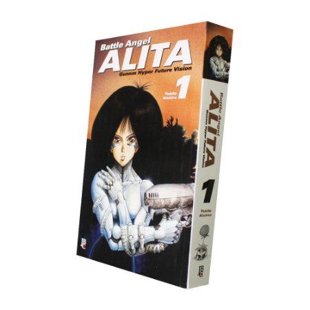 Battle Angel Alita Vol. 1 - Pré-venda