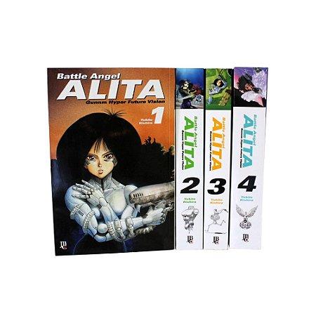 Battle Angel Alita Vol. 1 ao 4