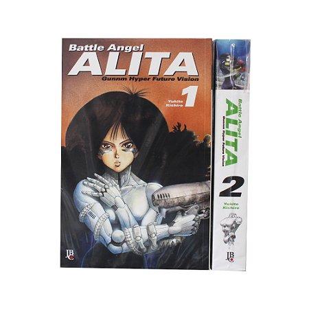 Battle Angel Alita Vol. 1 e 2 - Pré-venda