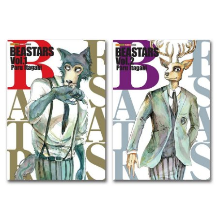 Beastars Vol. 1 e 2 - Pré-venda
