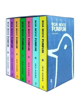 Box Boa Noite Punpun Vol. 1 ao 7 - Pré-venda