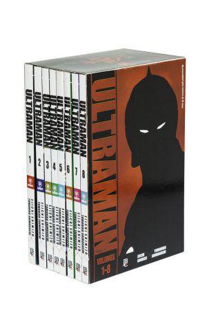 Box do Ultraman Vol. 1 ao 8 - Pré-venda