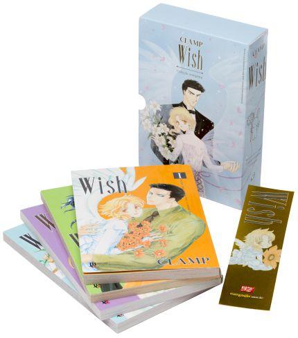 Box do Wish Vol. 1 ao 4 - Pré-venda