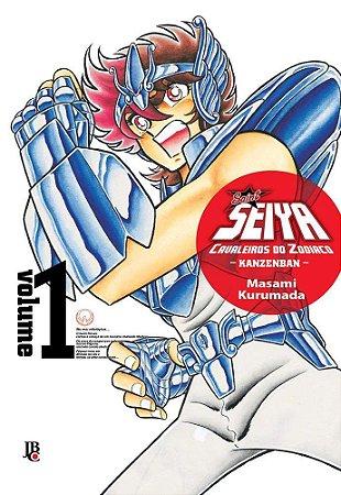 Cavaleiros do Zodíaco - Kanzenban Vol. 1 - Pré-venda