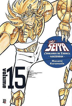 Cavaleiros do Zodíaco - Kanzenban Vol.15 - Pré-venda