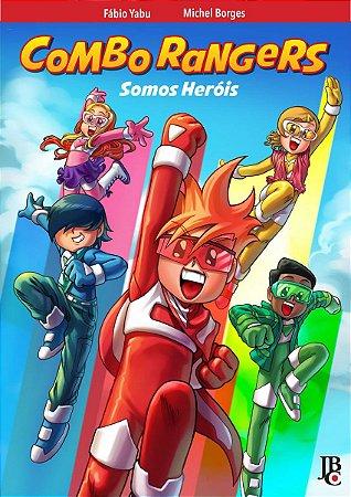 Combo Rangers Somos Herói - Pré-venda