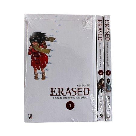 Erased Vol. 1 ao 3