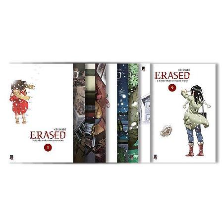 Erased Vol. 1 ao 9