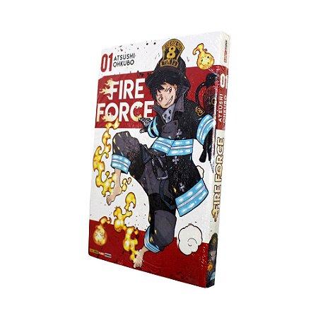 Fire Force Vol. 1 - Pré-venda