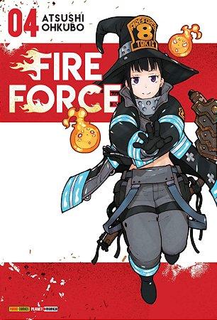 Fire Force Vol. 4 - Pré-venda