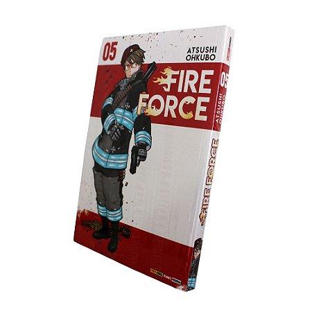 Fire Force Vol. 5 - Pré-venda