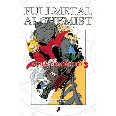 Fullmetal Alchemist Guia Completo Vol. 3 - Pré-venda