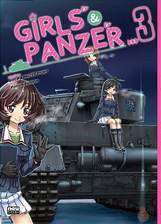 Girls & Panzer Vol. 3 - Pré-venda