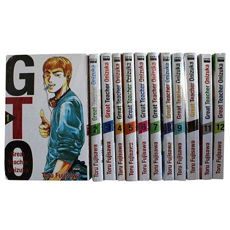 GTO Vol.1 ao 12