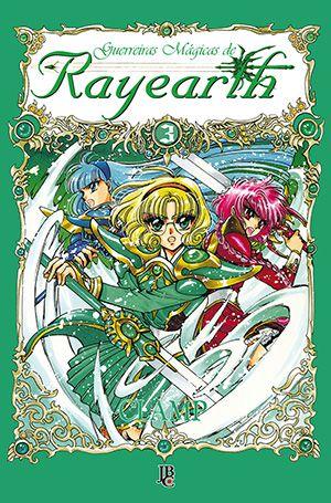 Guerreiras Mágicas de Rayearth Vol. 3 - Pré-venda