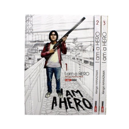 I Am A Hero Vol. 1 ao 3 - Pré-venda