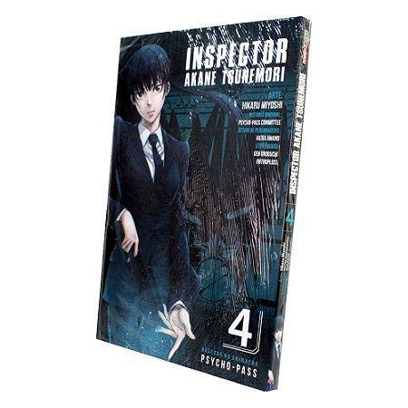 Inspector Akane Tsunemori Vol. 4 - Pré-venda