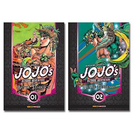 Jojo'S Bizarre Adventure. Battle Tendency Vol.1 e 2 - Pré-venda
