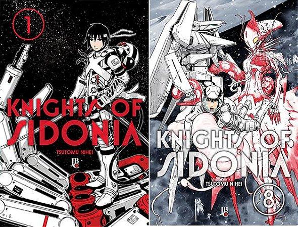 Knights of Sidonia Vol. 1 ao 8 - Pré-venda