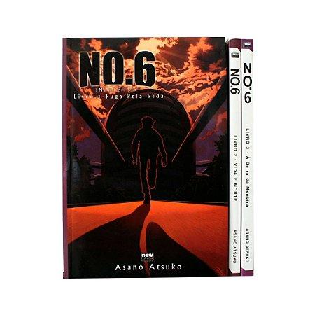 Light Novel No.6 (Number Six) Vol. 1 ao 3