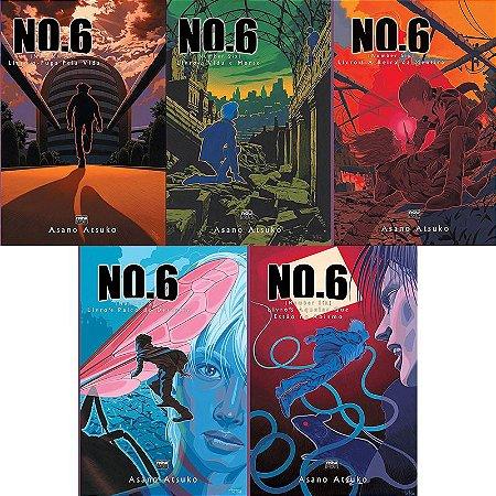 Light Novel No.6 (Number Six) Vol. 1 ao 5 - Pré-venda