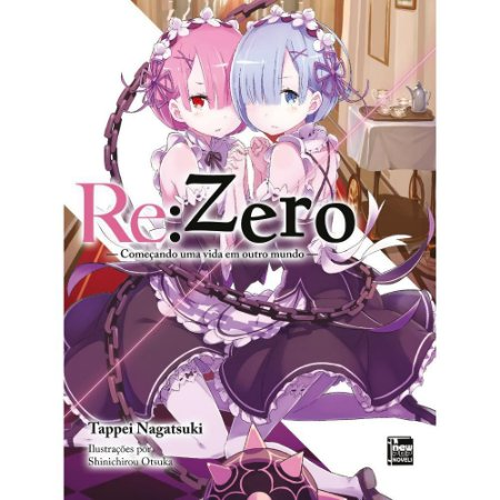 Light Novel Re:Zero Vol. 2 - Pré-venda