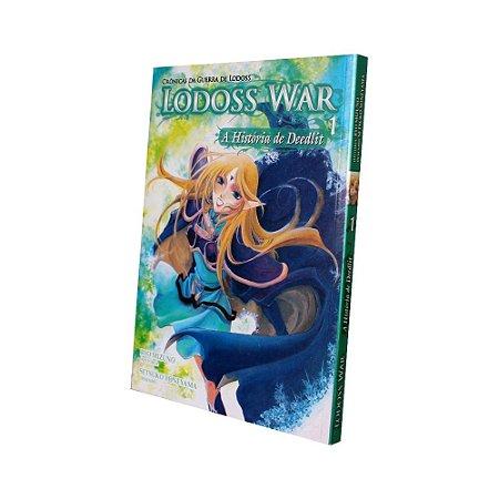 Lodoss Wars A História de Deedlit Vol. 1