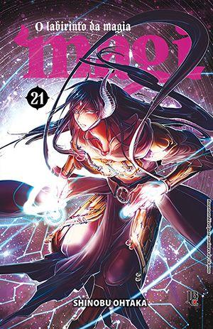 Magi: O Labirinto da Magia Vol. 21 - Pré-venda