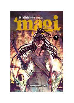 Magi: O Labirinto da Magia Vol. 7 - Pré-venda