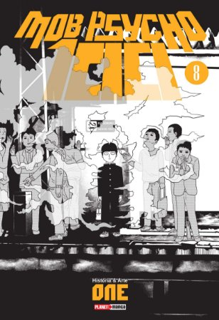 Mob Psycho 100 Vol. 8 - Pré-venda