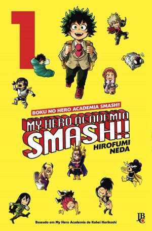 My Hero Academia Smash Vol. 1 - Pré-venda