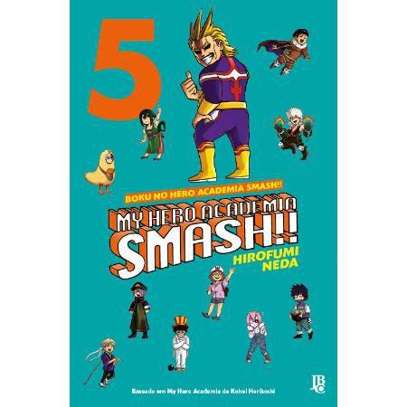 My Hero Academia Smash Vol. 5 - Pré-venda
