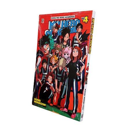 My Hero Academia Vol. 4 - Pré-venda