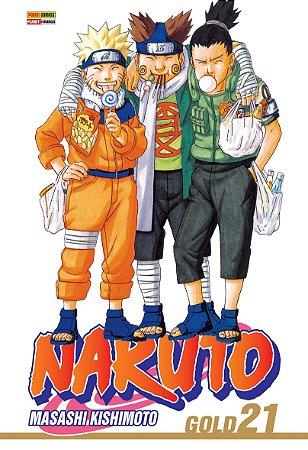 Naruto Gold Vol. 21 - Pré-venda