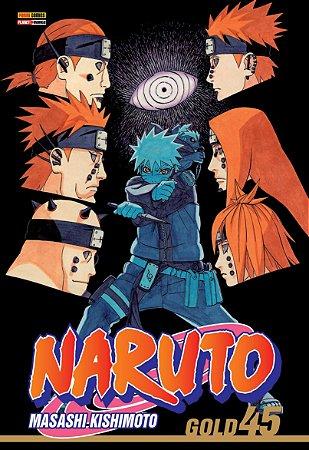 Naruto Gold Vol. 45 - Pré-venda