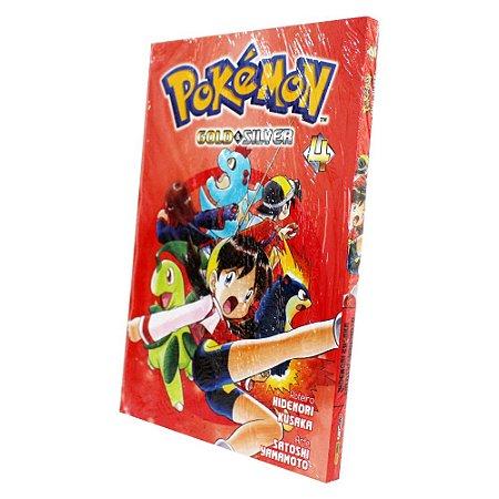 Pokemon Gold & Silver Vol. 4 - Pré-venda